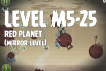Angry Birds Space Red Planet Mirror Level M5-25 Walkthrough