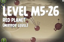 Angry Birds Space Red Planet Mirror Level M5-26 Walkthrough