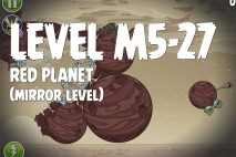 Angry Birds Space Red Planet Mirror Level M5-27 Walkthrough