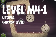 Angry Birds Space Utopia Mirror Level M4-1 Walkthrough
