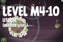 Angry Birds Space Utopia Mirror Level M4-10 Walkthrough
