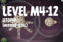 Angry Birds Space Utopia Mirror Level M4-12 Walkthrough