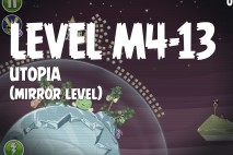 Angry Birds Space Utopia Mirror Level M4-13 Walkthrough