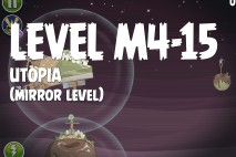 Angry Birds Space Utopia Mirror Level M4-15 Walkthrough