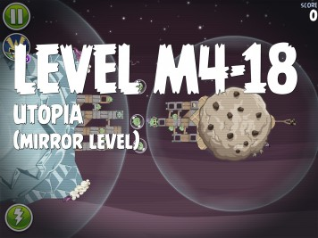 Angry Birds Space Utopia Level M4-18