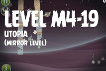Angry Birds Space Utopia Mirror Level M4-19 Walkthrough
