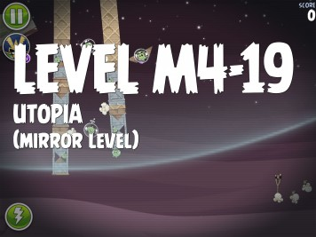 Angry Birds Space Utopia Level M4-19