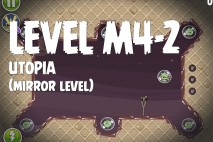 Angry Birds Space Utopia Mirror Level M4-2 Walkthrough