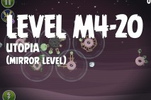 Angry Birds Space Utopia Mirror Level M4-20 Walkthrough
