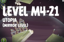 Angry Birds Space Utopia Mirror Level M4-21 Walkthrough