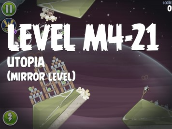 Angry Birds Space Utopia Level M4-21