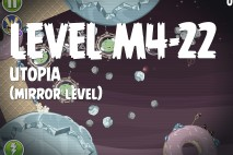 Angry Birds Space Utopia Mirror Level M4-22 Walkthrough