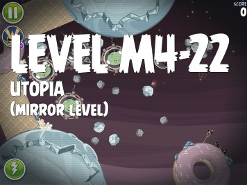 Angry Birds Space Utopia Level M4-22