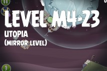 Angry Birds Space Utopia Mirror Level M4-23 Walkthrough