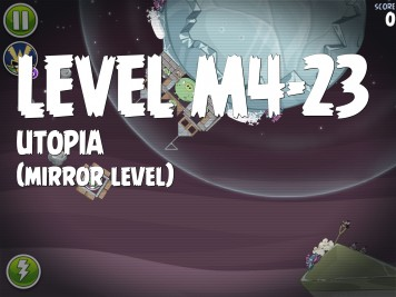Angry Birds Space Utopia Level M4-23