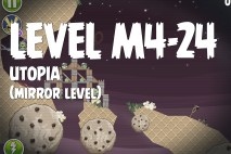 Angry Birds Space Utopia Mirror Level M4-24 Walkthrough
