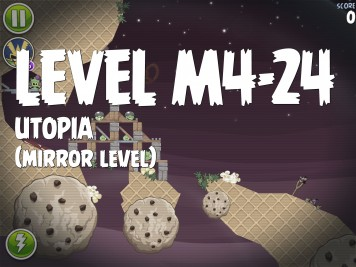 Angry Birds Space Utopia Level M4-24