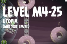 Angry Birds Space Utopia Mirror Level M4-25 Walkthrough