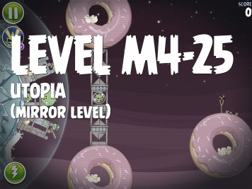 Angry Birds Space Utopia Level M4-25