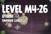 Angry Birds Space Utopia Mirror Level M4-26 Walkthrough