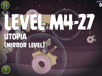 Angry Birds Space Utopia Level M4-27