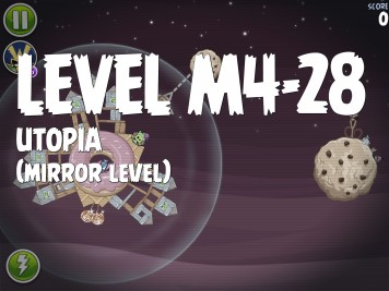 Angry Birds Space Utopia Level M4-28