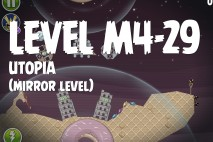 Angry Birds Space Utopia Mirror Level M4-29 Walkthrough