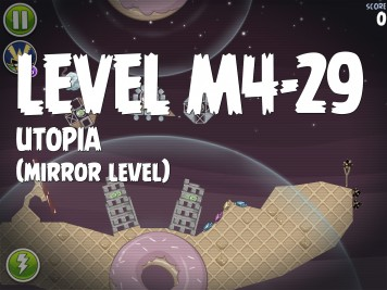 Angry Birds Space Utopia Level M4-29