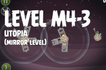 Angry Birds Space Utopia Mirror Level M4-3 Walkthrough