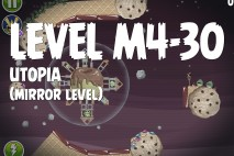 Angry Birds Space Utopia Mirror Level M4-30 Walkthrough