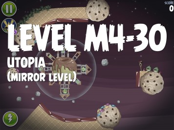 Angry Birds Space Utopia Level M4-30