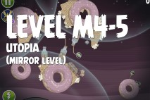 Angry Birds Space Utopia Mirror Level M4-5 Walkthrough