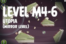 Angry Birds Space Utopia Mirror Level M4-6 Walkthrough