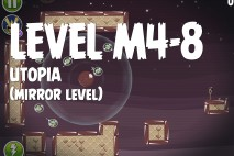 Angry Birds Space Utopia Mirror Level M4-8 Walkthrough