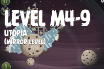 Angry Birds Space Utopia Mirror Level M4-9 Walkthrough