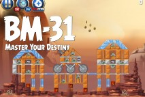 Angry Birds Star Wars 2 Master Your Destiny Level BM-31 Walkthrough