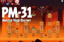 Angry Birds Star Wars 2 Master Your Destiny Level PM-31 Walkthrough