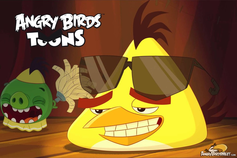 "Angry Birds Toons Characters Eggs By Brunomilan13 On: Season 2 Episode 13 ""Chuckmania"