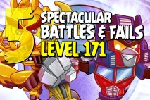 Angry Birds Transformers Epic Battles & Fails – Part 5 – Level 171