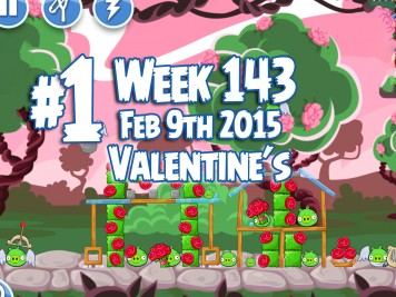 Angry Birds Friends Week 143 Valentines Level 1