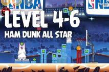 Angry Birds Seasons Ham Dunk Level 4-6 Walkthrough