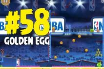 Angry Birds Seasons Ham Dunk Golden Egg #58 Walkthrough