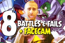 Angry Birds Transformers Epic Battles & Fails – Part 8 + Facecam