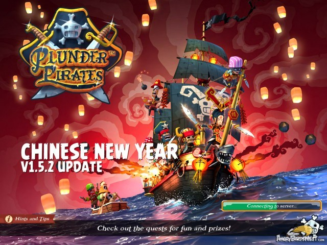 Plunder Pirates Rovio Stars v1.5.2 Chinese New Year Update Splash