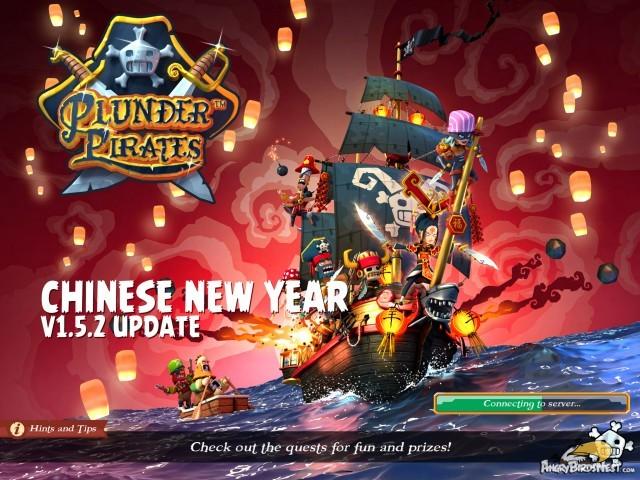 Plunder Pirates Rovio Stars v1.5.2 Chinese New Year Update Splash