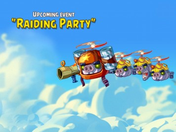 Angey Birds Epic Event The Raiding Party