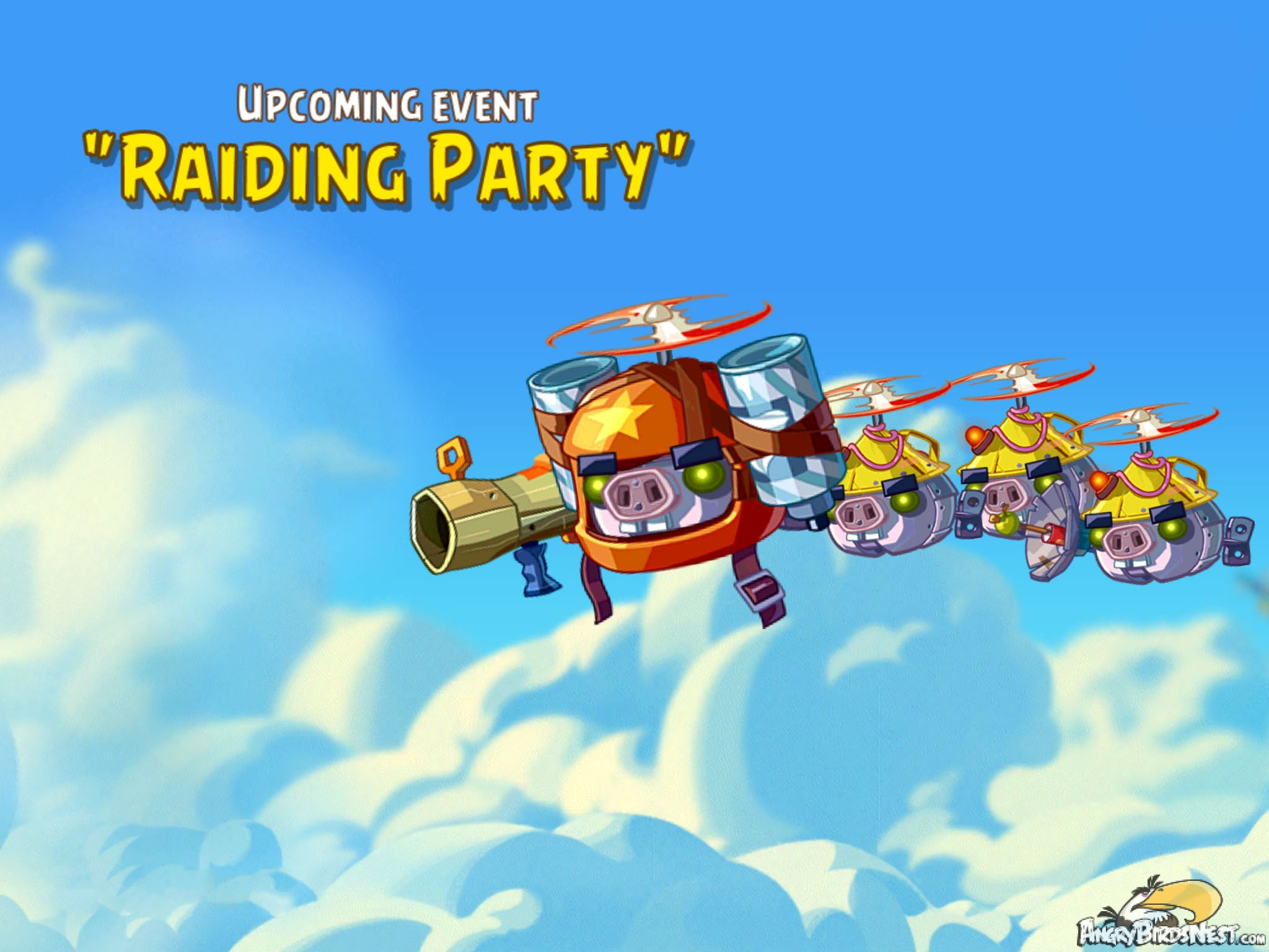 """Upcoming Angry Birds Epic """"The Raiding Party!"""" Event – March 2015"""