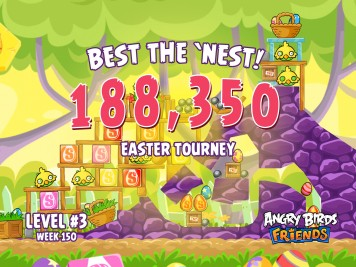 Angry Birds Friends Best the Nest Week 150 Level 3