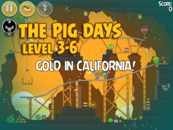 Angry Birds Seasons The Pig Days Level 3-6