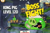 Angry Birds Under Pigstruction King Pig Level 120 Boss Fight Walkthrough